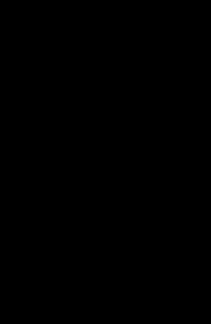 Weizenfarbige Bornholmer Standuhr um 1860